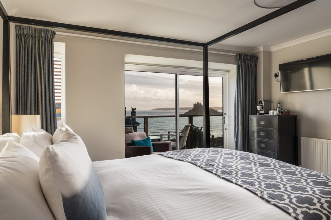 Mount-Haven---Blissful-Bay-Room---Room-20---view-out-to-St-Michael's-Mount---credit-Mike-Searle